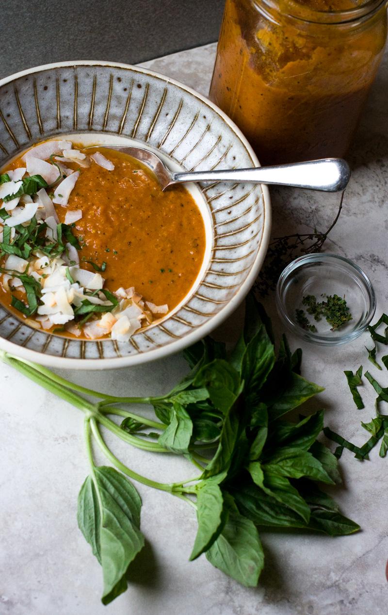 Chipotle Tomato Soup   Sheena Scott, Culinary Nutrition Expert